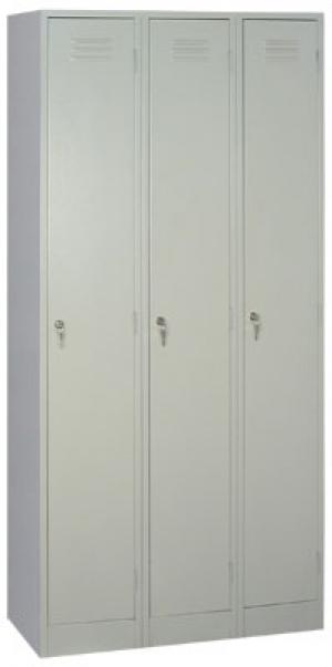 Шкаф металлический для одежды ШРМ - 33 купить на выгодных условиях в Липецке