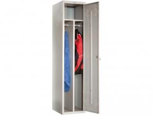 Шкаф металлический для одежды ПРАКТИК LS(LE)-11-40D купить на выгодных условиях в Липецке