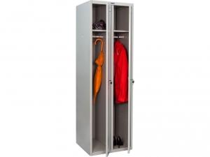 Шкаф металлический для одежды ПРАКТИК LS(LE)-21 купить на выгодных условиях в Липецке