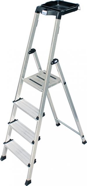 Лестница стремянка Secury 4 ступени купить на выгодных условиях в Липецке