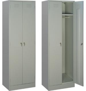 Шкаф металлический для одежды ШРМ - 22 купить на выгодных условиях в Липецке