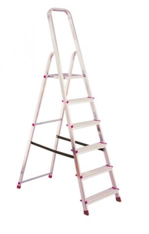 Лестница стремянка Corda 6 ступеней купить на выгодных условиях в Липецке