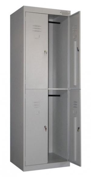 Шкаф металлический для одежды ШРK-24-600 купить на выгодных условиях в Липецке