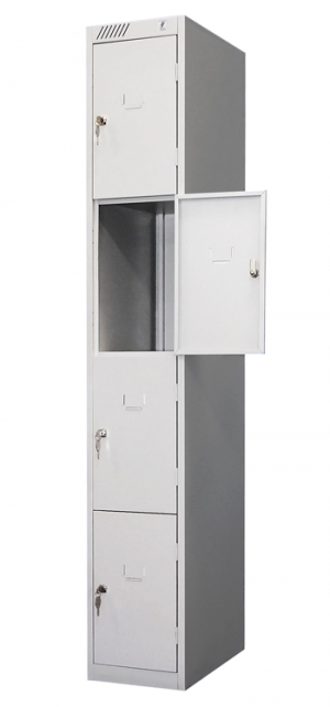 Шкаф металлический для сумок ШРС-14дс-300